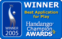 Handango Champion Awards 2005