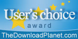Download Planet: Users' Choice Award